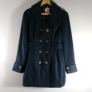 TULLE longsleeve blur jacket,  Sz XS